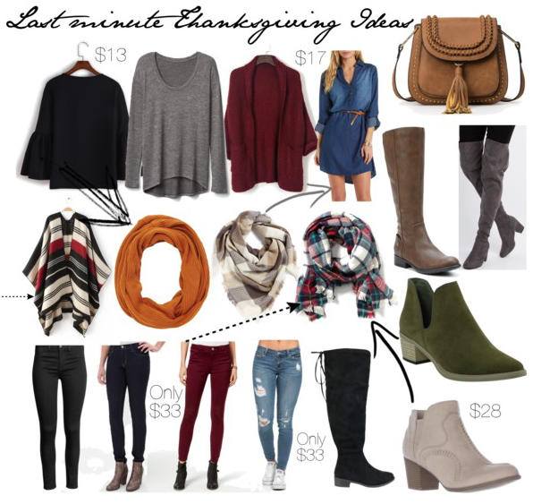 Fall Clothing for Thanksgiving Day