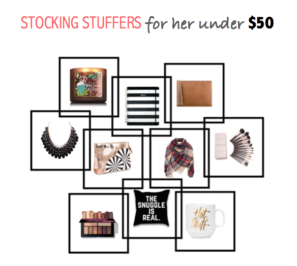 Stocking Stuffers for her under $50