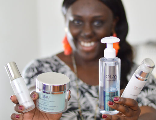 #Olay28Day Skin care challenge routine for women of color beauty maintenance reduce dark spots and uneven skin tone brightening mask