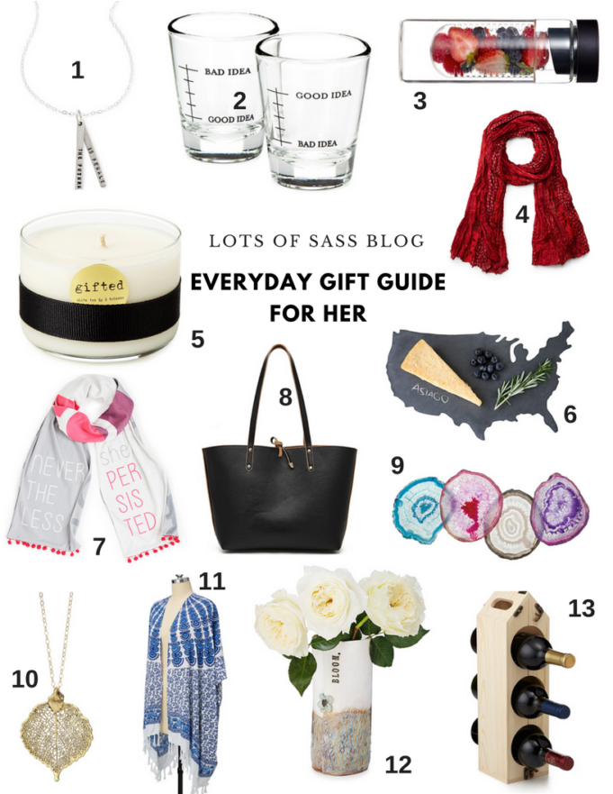 Everyday Gift Guide for Her